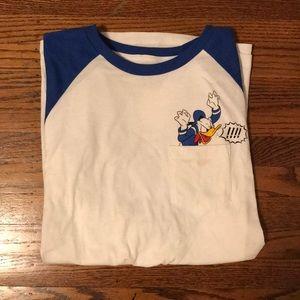 VansxDisney Donald Duck Baseball Tee